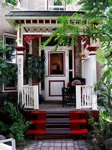 beautiful red front porch design nifty ideas for the home pintere