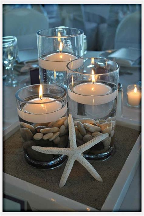wedding centerpieces with candles and sand wedding centerpiece decoration with candleswedwebtalks wedwebtalks
