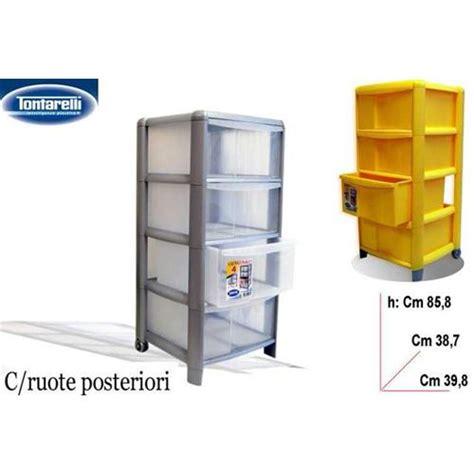 cassettiere plastica tontarelli prodotto ca4 cassettiera tontarelli 4 piani