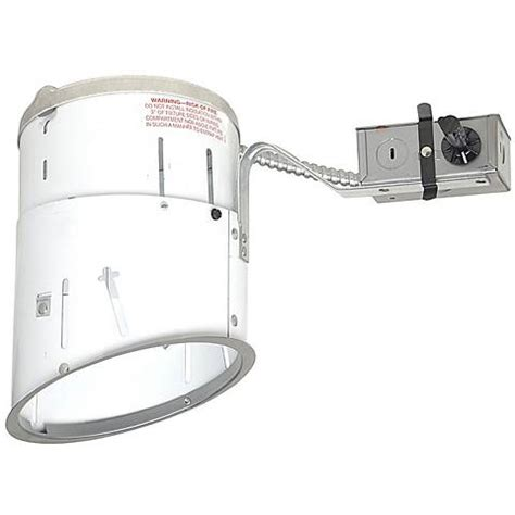 juno 6 quot line voltage sloped remodel recessed light housing