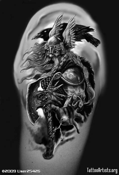 norse mythology tattoos odin s 246 k p 229