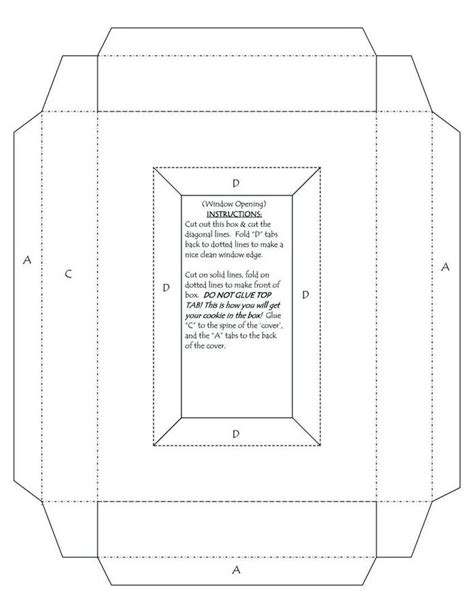Greeting Card Box Template Make A 5x7 Greeting Card Where The Back Of The Card Is A 1 Quot Deep Card Box Template