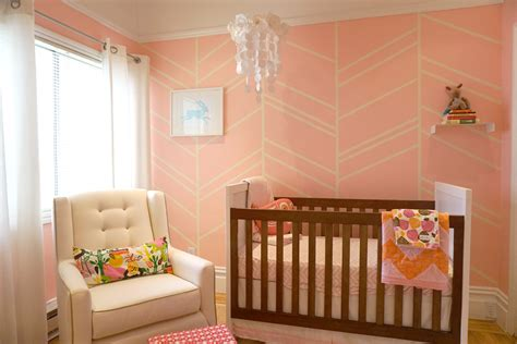 pink nursery in the nursery with jennifer morrison project nursery