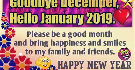 goodbye december  january