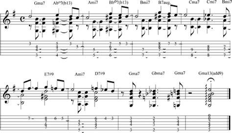 tutorial guitar jazz jazz guitar online lesson 17 chord melody intro