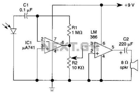 photodiode receiver circuit photodiode lifier circuit photodiode free engine image for user manual