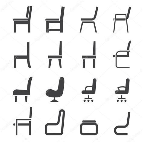 Stuhl Piktogramm by Stuhl Symbol Stockvektor 169 Jacartoon 61609709