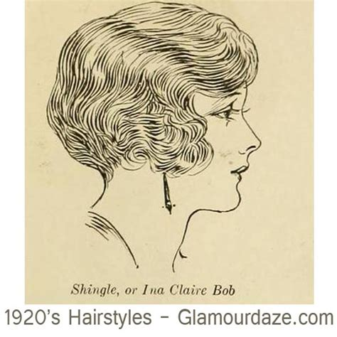 drawing of shingle haircut style shingle bob 1920s flapper hairstyles hairstyle gallery