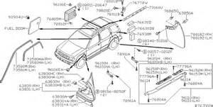 Nissan Part 2002 Nissan Xterra Oem Parts Nissan Usa Estore