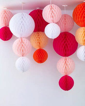 How To Make Honeycomb Paper Decorations - 10 festive ideas for decorating with honeycomb balls