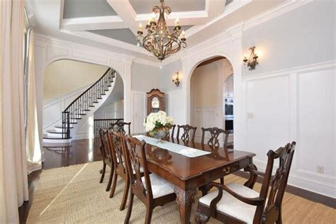 dining room wainscoting wainscoting in dining rooms photos peenmedia com