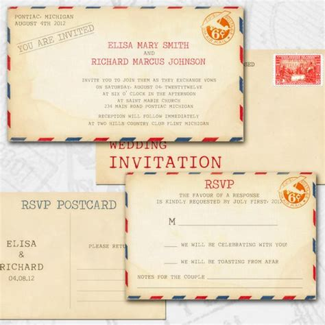 Wedding Invitations You Can Make Yourself by Vintage Wedding Invitations You Can Make Yourself Rustic