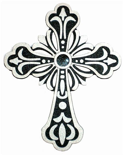ornate cross tattoo ornate cross clipart clipart suggest