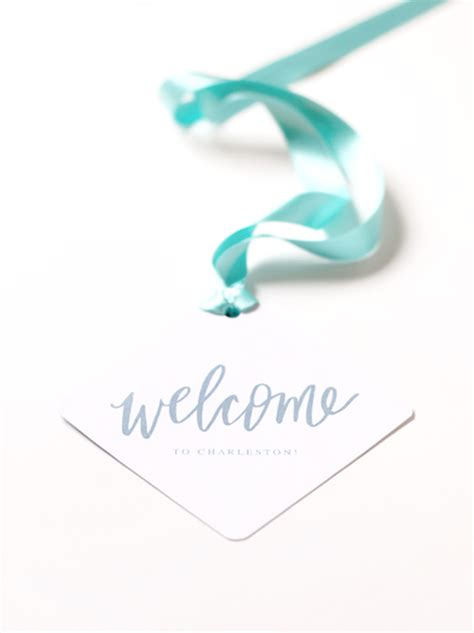 Wedding Welcome Box Julep by Wedding Welcome Gift And Printable Tag Julep