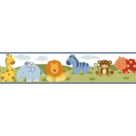 Colored Kitchen Faucets Chesapeake Simba Jungle Safari Cartoons Wallpaper Border