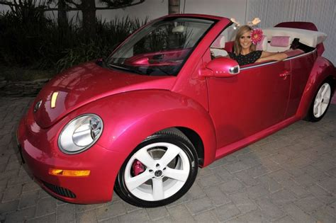 barbie volkswagen pink my ride barbie gets a beetle for her birthday wired