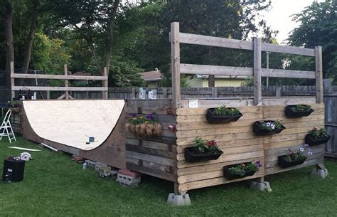 how to build a halfpipe in your backyard halfpipe diy planters built by a few departikans not so