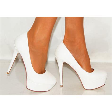 White High Heels   Is Heel