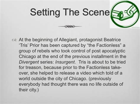 book report on divergent tween 2 book reviews a summary of allegiant