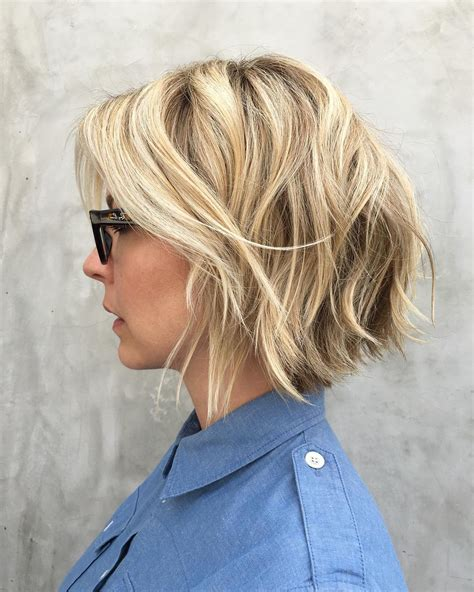images of blonde layered haircuts from the back 30 trendiest shaggy bob haircuts of the season