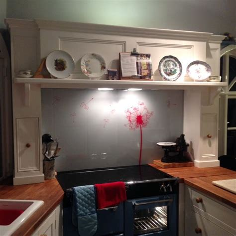 kitchens and interiors dandelion patterned glass splashback by adplanglass kitchens interiors kitchendesign