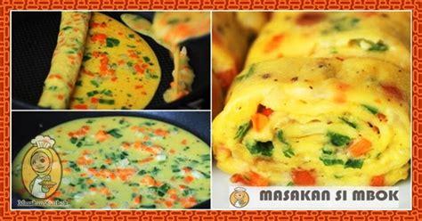 cara membuat telur gulung ala korea cara membuat telur dadar gulung ala korea masakan simbok