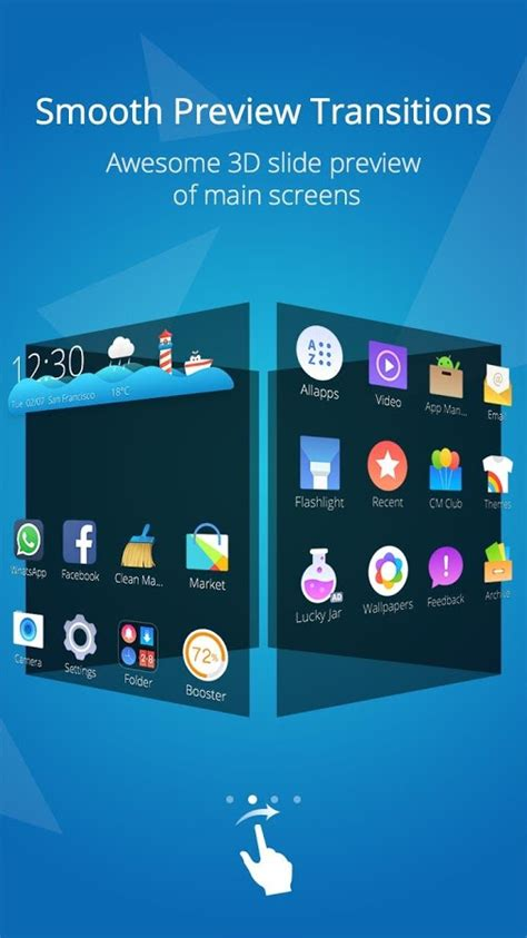 mobile themes play store cm launcher 3d theme boost android apps on google play