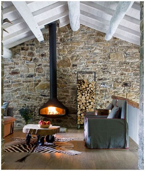 Faux Fieldstone Fireplace by Faux Fireplace Thayer Reed