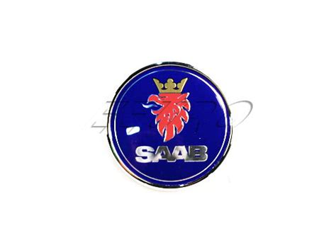 Emblem Tulisan 24 25 15134967 genuine saab emblem free shipping available