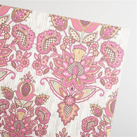 Handmade Wrapping Paper - pink octavia handmade wrapping paper rolls set of 2
