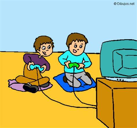 imagenes de niños jugando en navidad dibujo de ni 241 os jugando pintado por grace en dibujos net