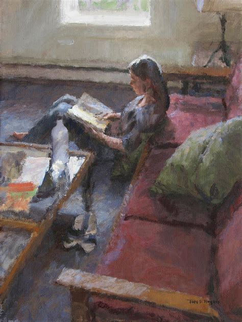 tom hughes oakland portraiture figurative and landscape painting in oil