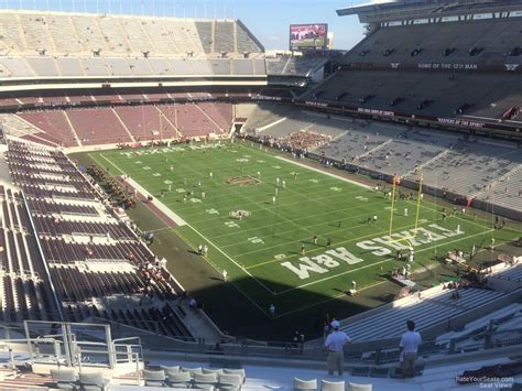 kyle field sections kyle field section 350 rateyourseats com