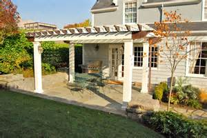 Pergolas Attached To Houses » Home Decoration