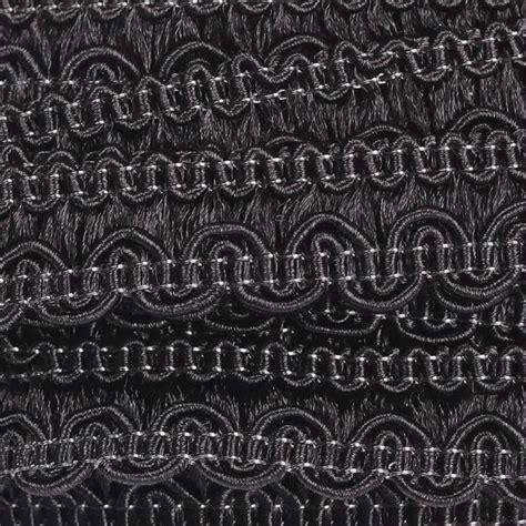 Galon Tapisserie by Galon Passementerie Vague 5 M 232 Tres Noir