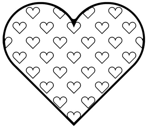 coloring pages hearts hearts coloring pages free printables