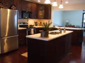 wooden kitchen ideas kitchenette design ideas with wooden cabinet also