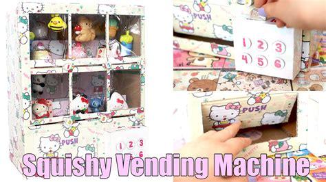 a squishy vending machine squishy vending machine cardboard