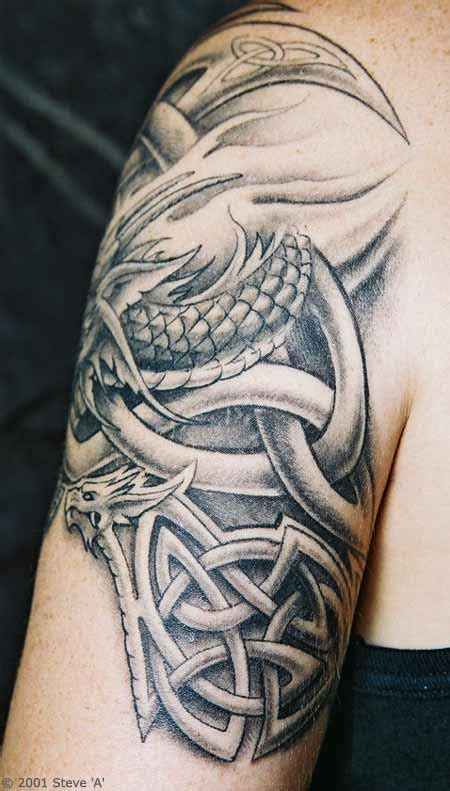celtic dragon tattoo designs for men celtic only tattoos
