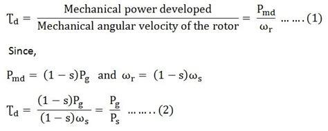 3 phase induction motor emf equation image gallery torque equation