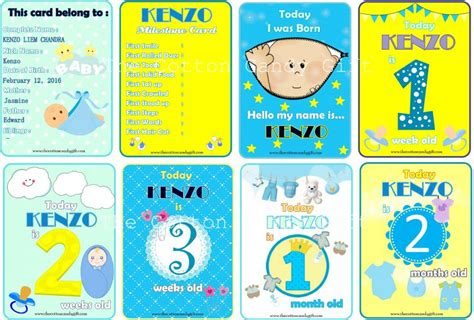 Tcc Gift Cards - the cotton candy gift tcc milestone baby card boy