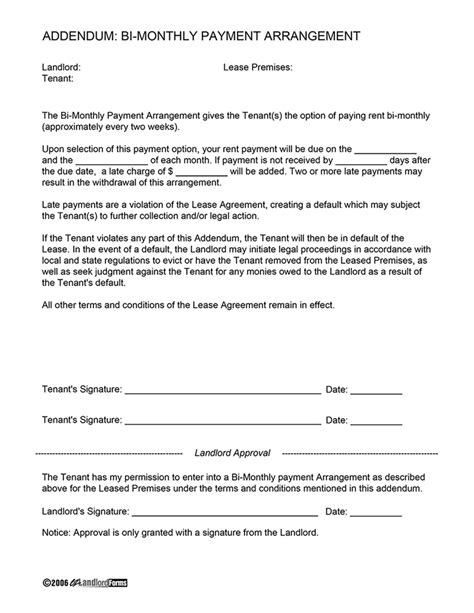 weekly rental agreement template related keywords suggestions for monthly payment plan letter