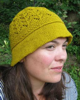 local knit ravelry saugeen summer lace cloche pattern by ash kearns