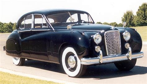 1954 Jaguar Vii 1954 Jaguar Mk Vii European Cars Of The 1950s