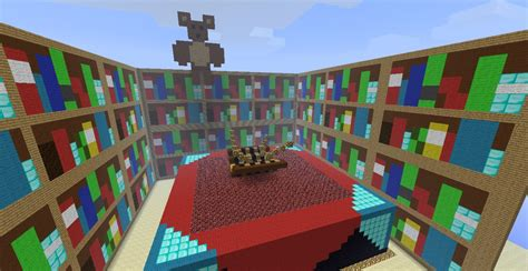 bookshelf interesting bookshelves minecraft charming