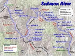 salmon river maps oregon river experiences