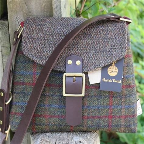 Handmade Bags Uk - harris tweed shoulder bag an incredibly stylish and well