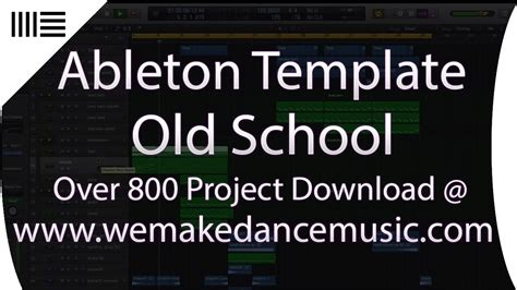 house music production old school deep house music production template for