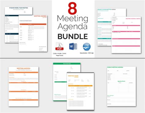 meeting agenda template 46 free word pdf documents