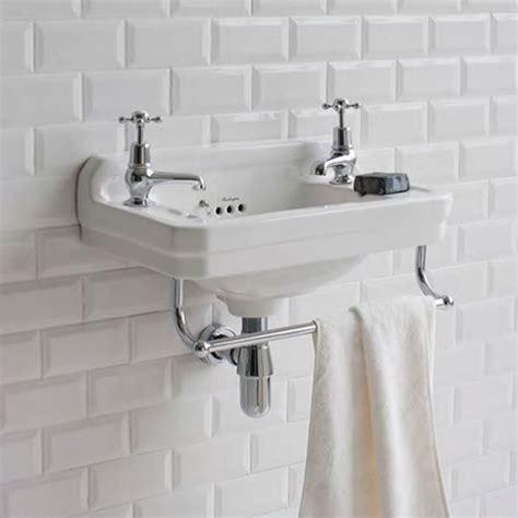 basin for small bathroom burlington edwardian cloakroom basin uk bathrooms